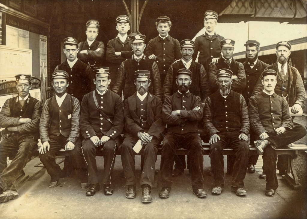 Havant Station Staff before 1899