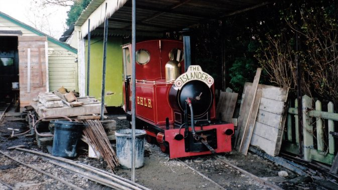 The East Hayling Light Railway at Mill Rythe Camp.