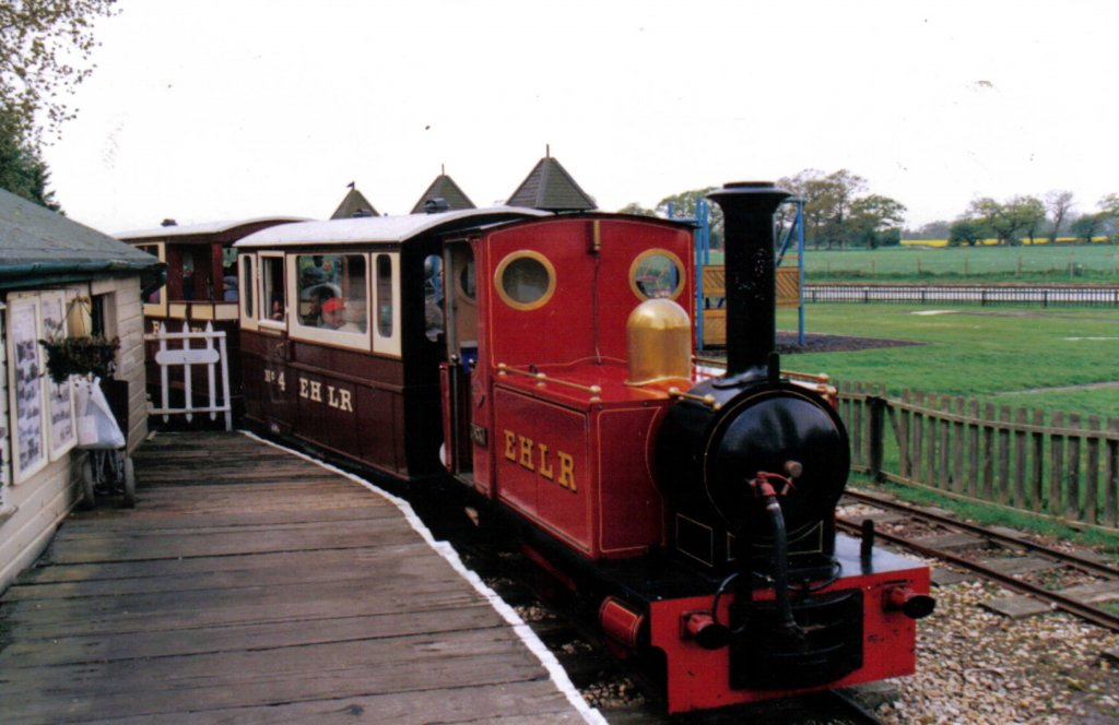 'Jack'bringing the train into the station