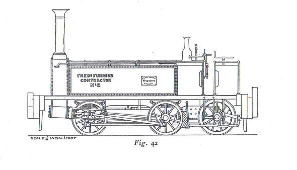 Contractor's Locomotive Furniss No 2