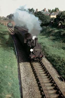 Engine Puffing Along Track 2