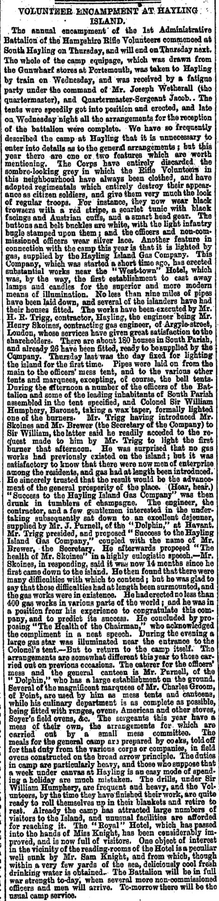 Hampshire Telegraph and Sussex Chronicle etc (Portsmouth, England), Saturday, July 28, 1877; Issue 4690