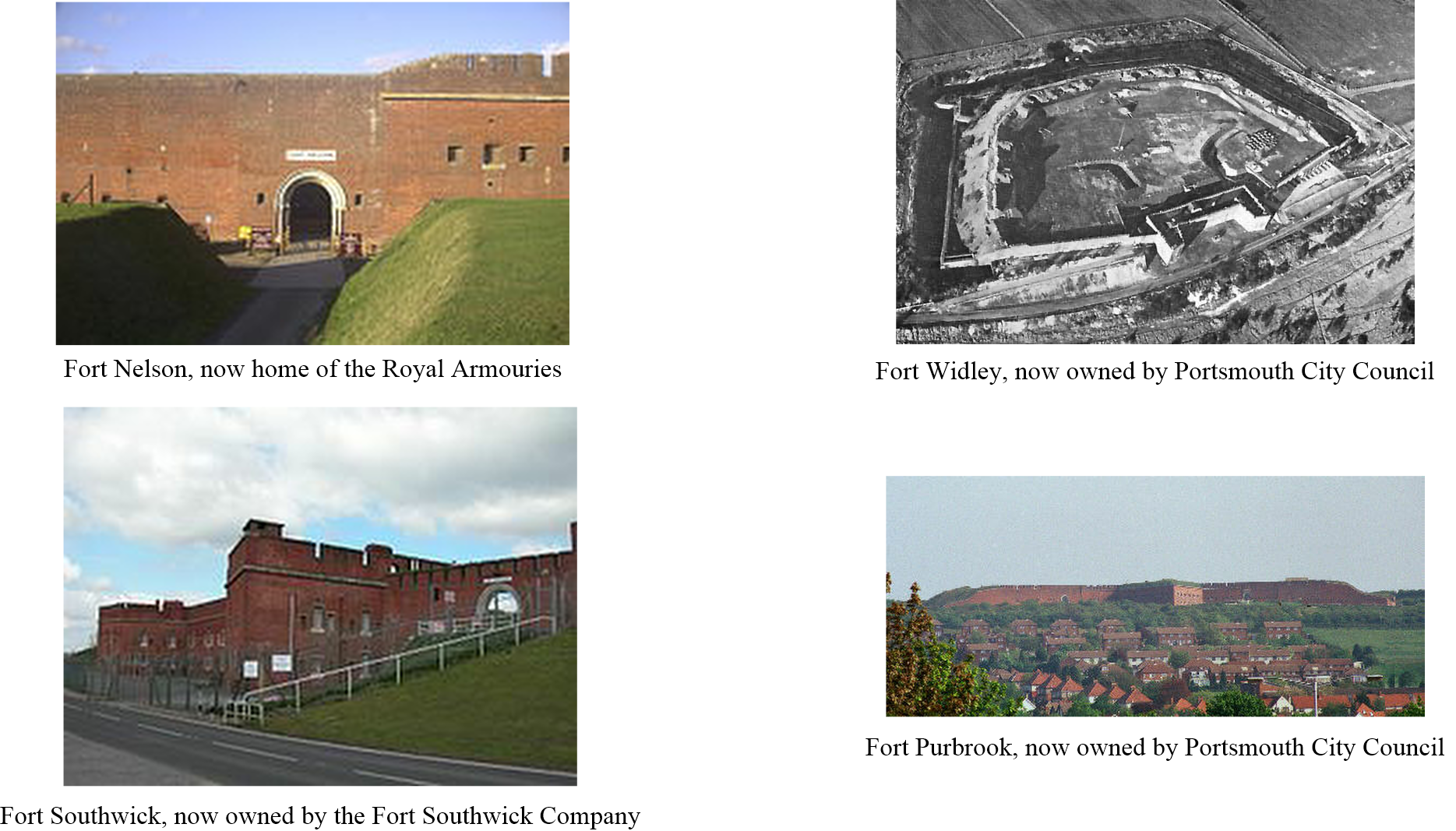 Portsdown Hill Forts