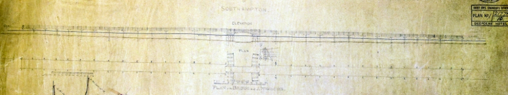 Bridge plan & elevation
