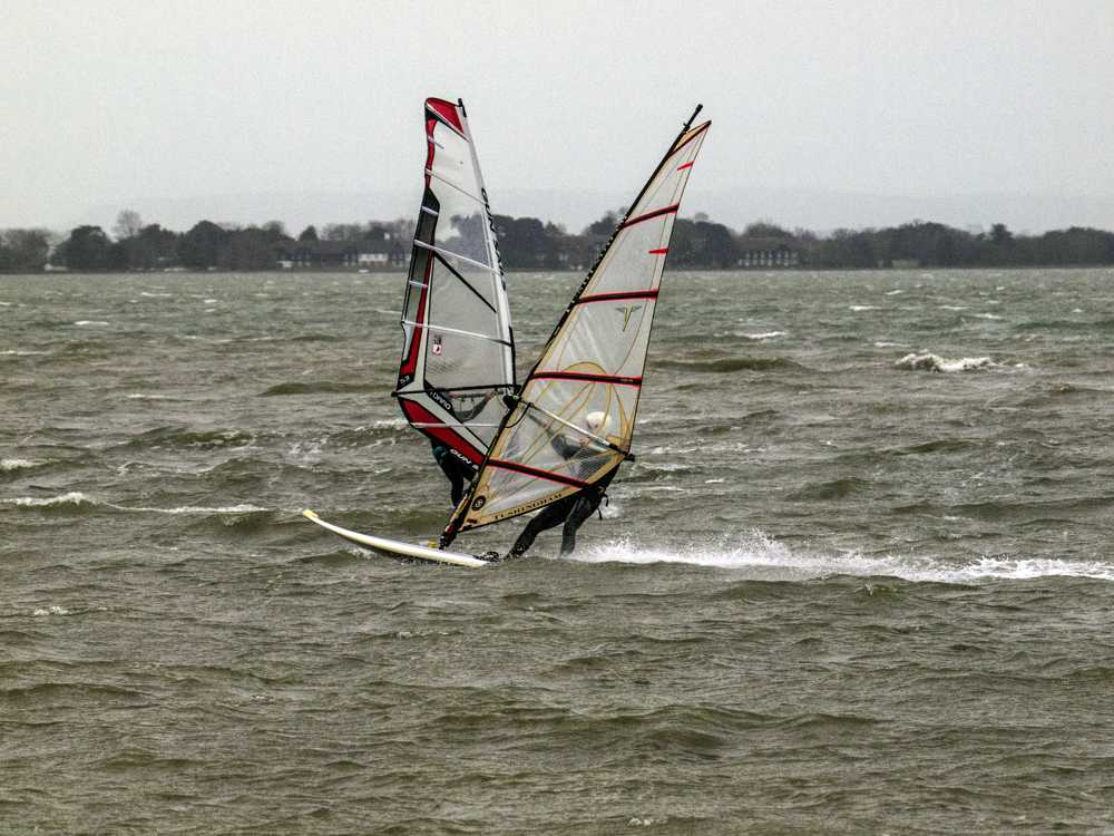Windsurfing at North Hayling - Peter Drury