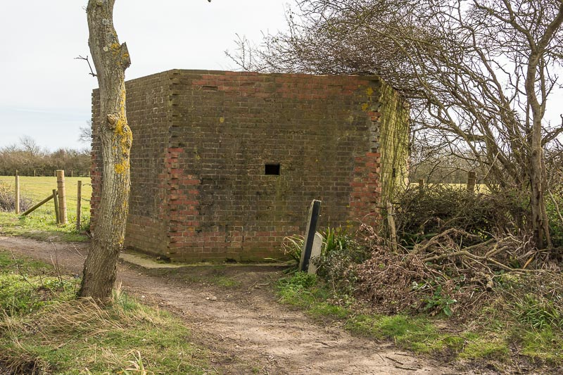 Pill box on the Hayling Billy Trail - Peter Drury