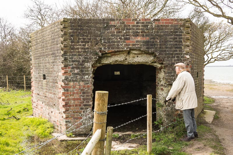 The entrance has been enlarged to allow the farmer to make use of the structure - Peter Drury