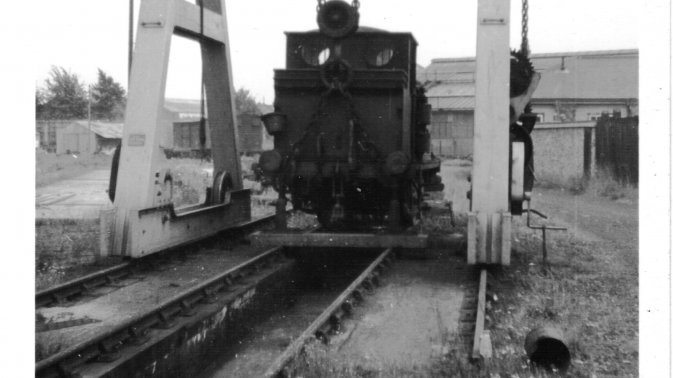Fratton MPD Terrier 32662 under repair 6 Sep 1963 – Ross Shimmon