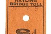 HCC Hayling Road Bridge Toll Ticket – Bob Morley collection