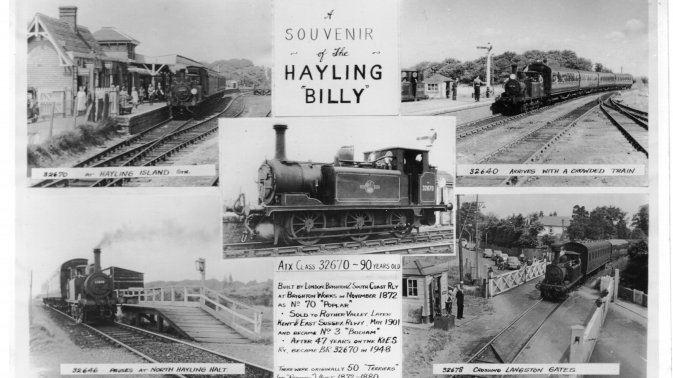 Souvenir of the Hayling Billy