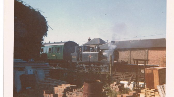 No.32678 at Havant taken from builder's yard, 30 August 1961