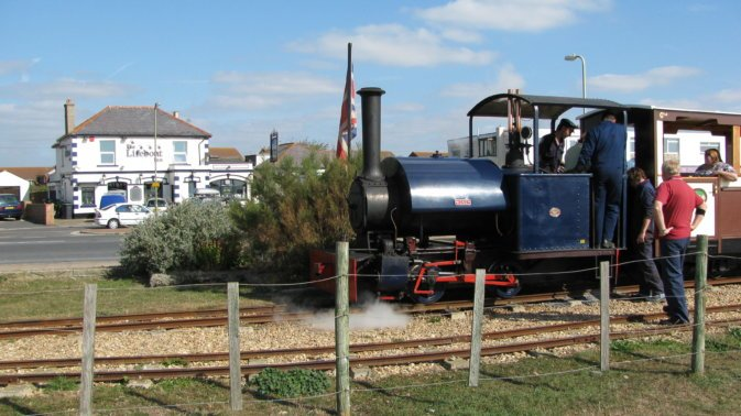 Steam at Eastoke Corner.