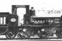 Rare photographs of 481 'Inspector' (Ex 499 'Hayling Island')